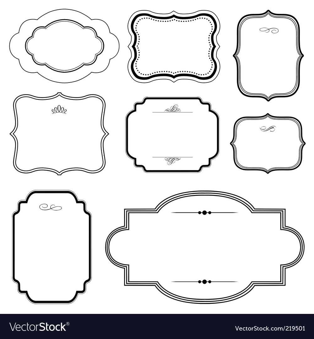 Matching frames set vector