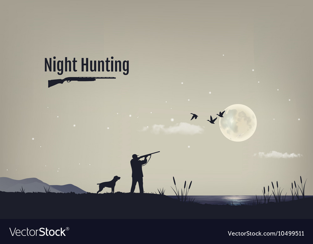 Process of hunting vector