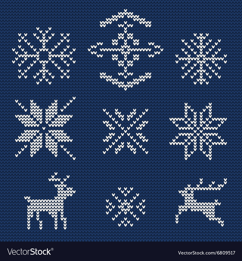 Ugly sweater background 1 vector