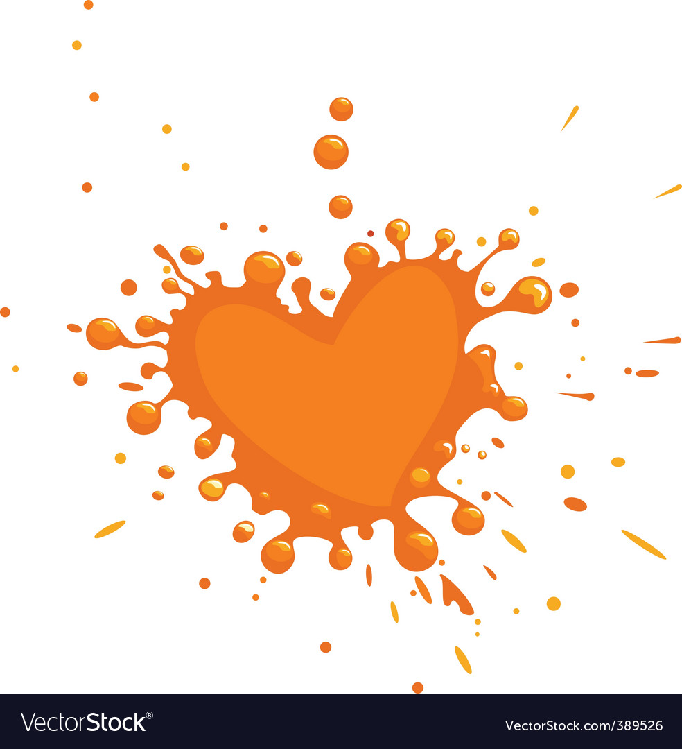 Paint drops vector