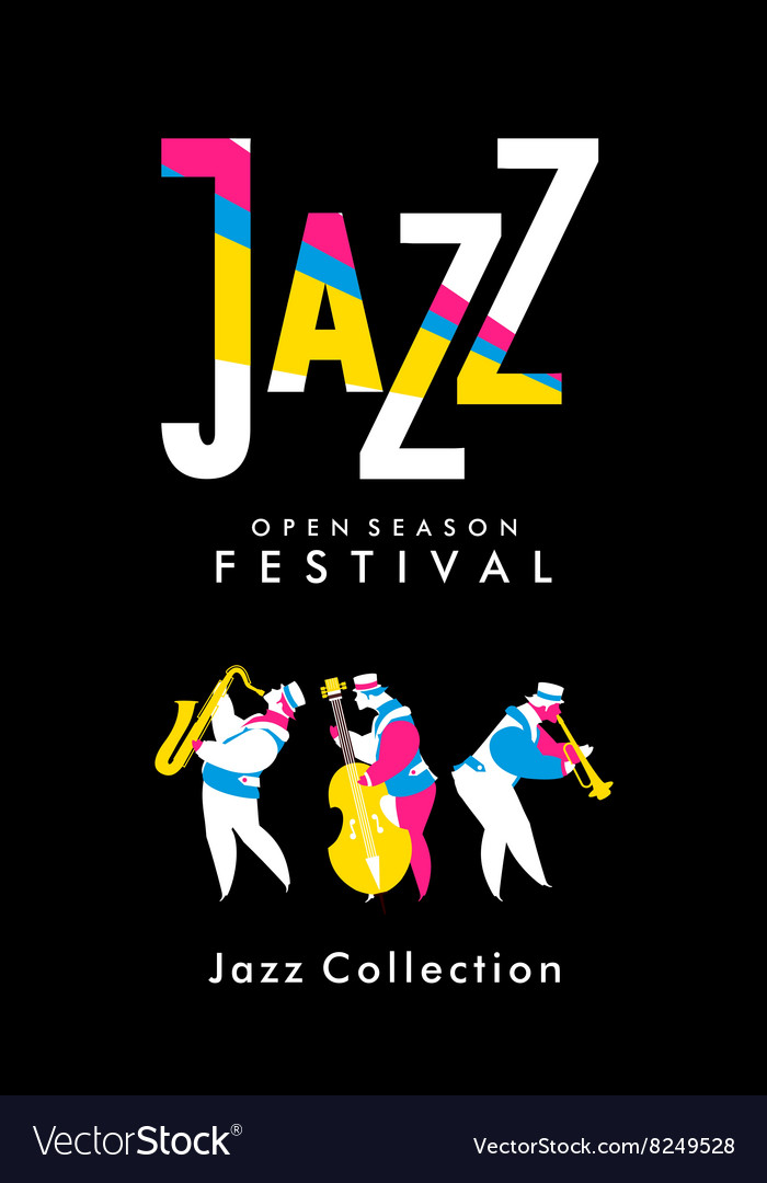 Jazz and blues festival vector