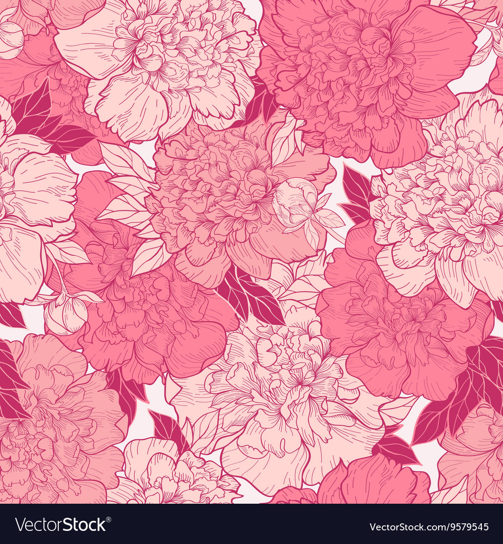Seamless background with beautiful pattern vector