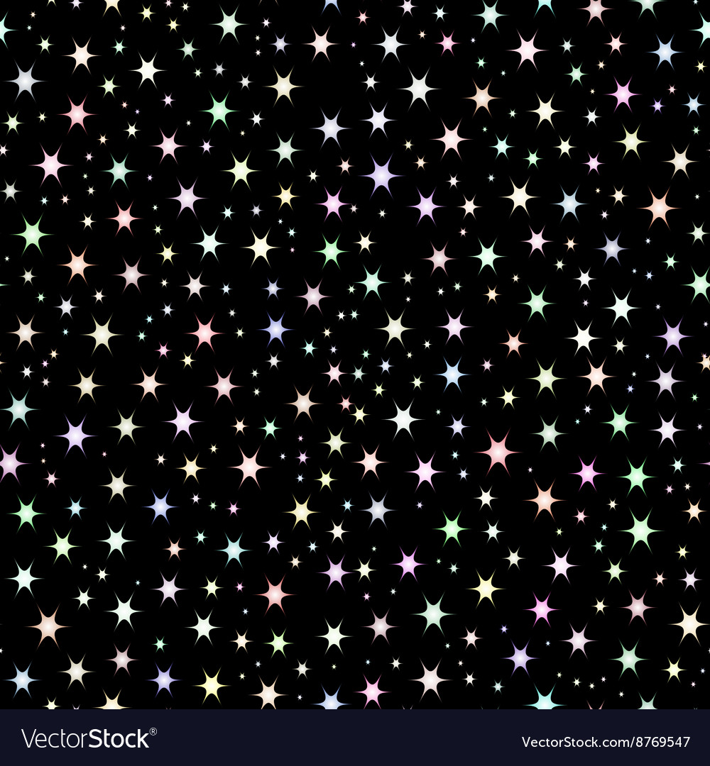 Space background night sky and stars vector