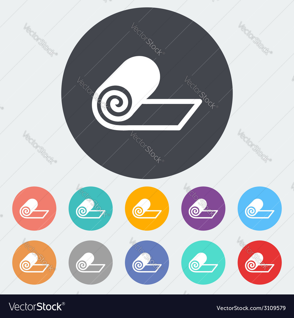 Mat for fitness vector