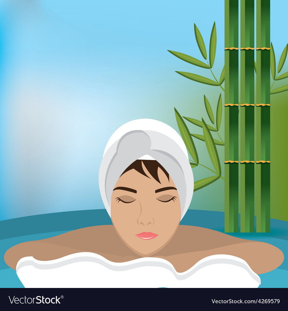 Spa design vector