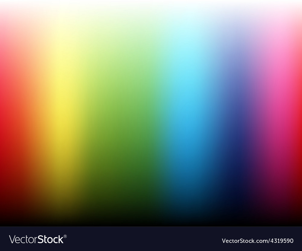 Rainbow gradient background vector