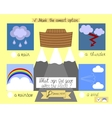 lesson and the task for kids about the ark and vector image