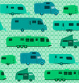 Camping Pattern vector image vector image
