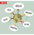 Languages say Hello in the world - - EPS10 vector image