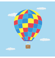 hot air baloon vector image vector image
