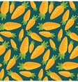 Food pattern Carrot seamless background vector image