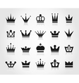 Crown an icon vector image