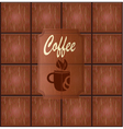 banner with coffee vector image vector image