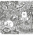 Anti stress cat vector image