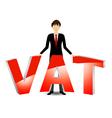 Vat payable vector image