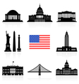 USA Travel Icon vector image
