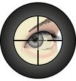 sharpshooter vector image vector image
