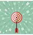 goal achievement concept vector image vector image