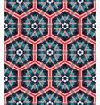 Seamless mosaic flat blue background vector image