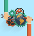 Search Engine Optimization SEO vector image