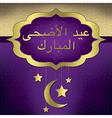 Eid Al Adha vector image vector image