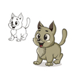 Kitty vector image