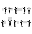 business people board set3 vector image vector image