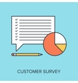 Customer Survey vector image