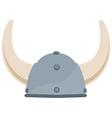 Viking hat vector image