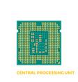 cpu processor vector image