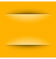 Yellow Geometric Copy Space Paper vector image vector image
