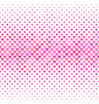 pink heart pattern background - valentines day vector image