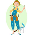 Save money on renovation vector image