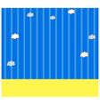 Sky Wallpaper Pattern vector image