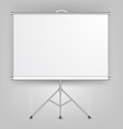 Blank Presentation Screen vector image