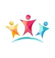 Happy Team Logo vector image