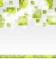 Abstract banner with squares for design corporate vector image
