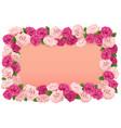 Flower Board vector image