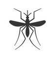mosquito icon on white background vector image