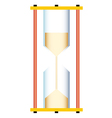 Sand glass vector image