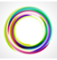 abstract smooth light ring vector image