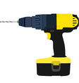 Drill driver vector image