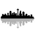 Seattle skyline vector image
