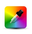 color picer icon vector image vector image