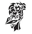 Smiling bird tattoo vector image