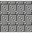 Seamless pattern Square geometric ornament vector image