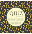 quiz background Question and answer vector image