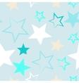 Seamless universal pattern Stars vector image