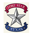 Star - Symbol of the State of Texas vector image