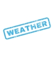 Weather Rubber Stamp vector image